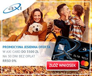 axi card - 300x250 - banner jesień bez odsetek
