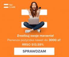 netcredit.pl 300x250 px - banner RRSO 513,59%