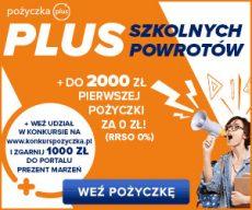 Pożyczkaplus.pl - chwilówka z Rzeczywistą Roczną Stopą Oprocentowania 0% - banner Back to school