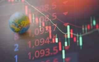 wyniki gospodarcze - świece kursów - globus